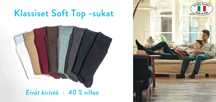 KLASSISET SOFT TOP -SUKAT